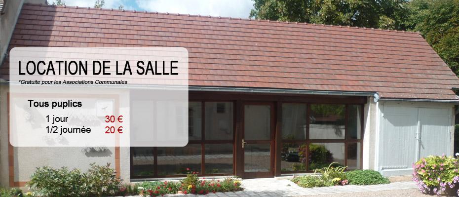 Location Maison des Associations