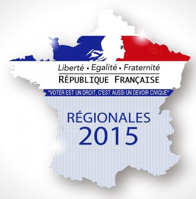 Résultat élections régionales 1er tour