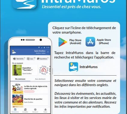 NOUVEAU: Application IntraMuros