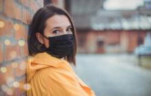 Confection des masques barrières en tissus maison. ATTENTION